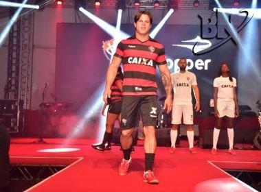 7cf141ad71 Vitória lança uniforme com nova fornecedora de material esportivo ...